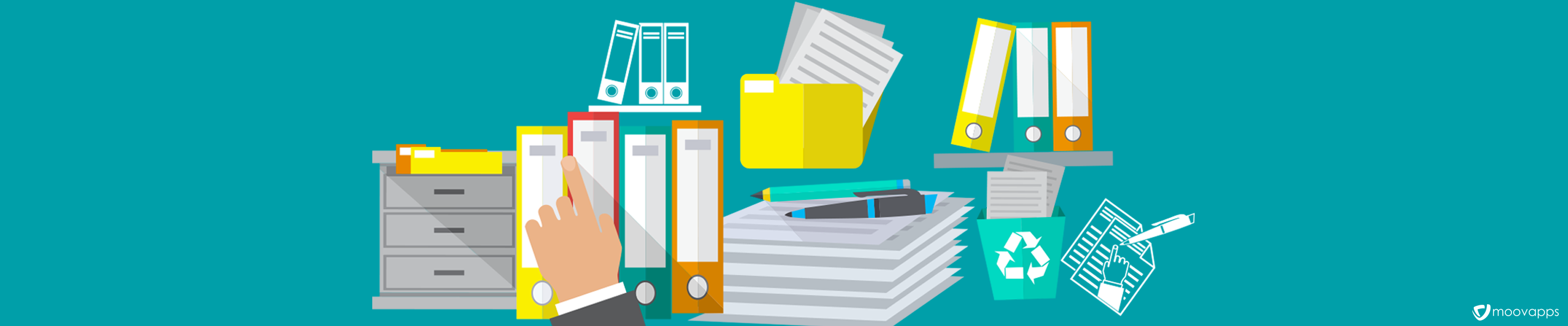 Avantages de la gestion de documents par Moovapps