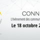 Programme et intervenants au Connect by Visiativ